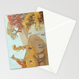 The Night Gardener - Autumn Park Stationery Cards