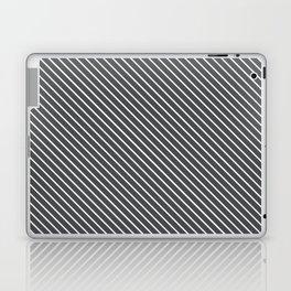 Dark Shadow Stripe Laptop & iPad Skin