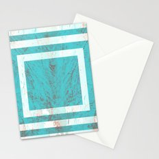 Squares in the Tide Stationery Cards