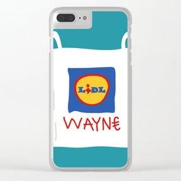 lidl wayne Clear iPhone Case