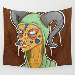 Disgusted Wall Tapestry