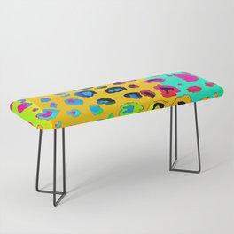 colorpop leopard Bench