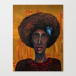 Denise Oliver Velez (Young Lords Party Series) Canvas Print