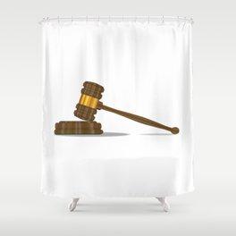 Judges Gravel Shower Curtain