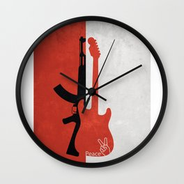 """""""War is over if you want it"""" Wall Clock"""