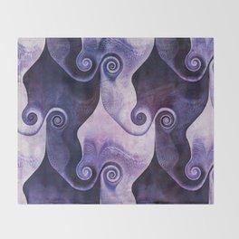 Swirly Spiral Throw Blanket