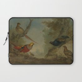 Aert Schouman - Pheasants Laptop Sleeve