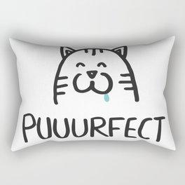 Puuurfect Rectangular Pillow