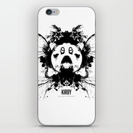Kirby Ink Blot Geek Psychological Disorders iPhone Skin