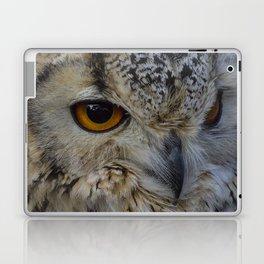 Eurasian eagle-owl, wild bird Laptop & iPad Skin