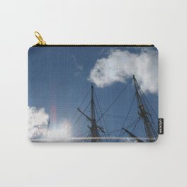 Salem Wooden ship Carry-All Pouch