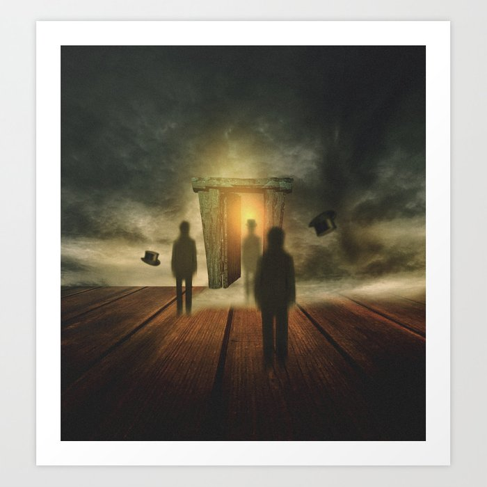 Surreal dreams, chapter II Art Print