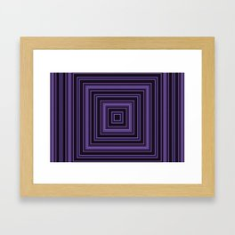 Squares and squares Framed Art Print
