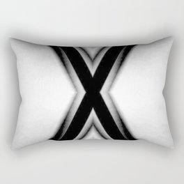 Double X Rectangular Pillow