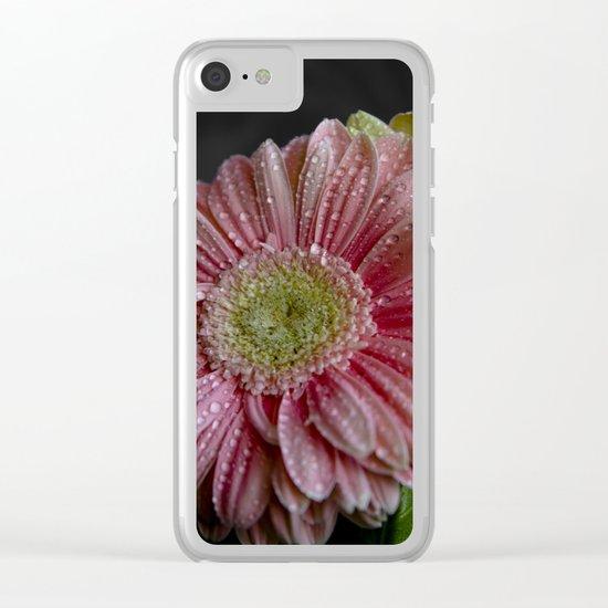 Gerbera spring Clear iPhone Case