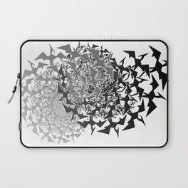 Fractyl Pterodactyl Swarms Laptop Sleeve
