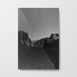Tunnel View, Yosemite National Park Metal Print