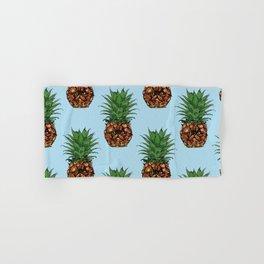 Pineapple Persian Cat Hand & Bath Towel