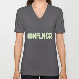#NFLNCR social media influencer hashtag # Unisex V-Neck