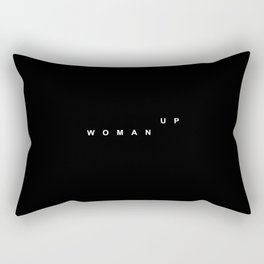 WOMAN UP Rectangular Pillow
