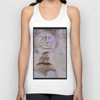 moulin rouge Tank Tops featuring vieux moulin by isabelle masse ouellette