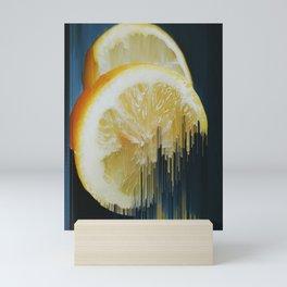 Lemony Good Glitch Mini Art Print