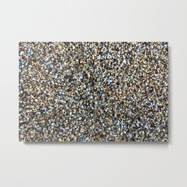 Small stones pattern Metal Print