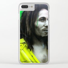 'Iron Like A Lion In Zion' Clear iPhone Case