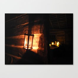 Candlelight Tours Canvas Print