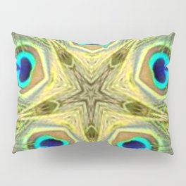 Estrella pavo 3 Pillow Sham