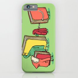 Book Jackets iPhone Case
