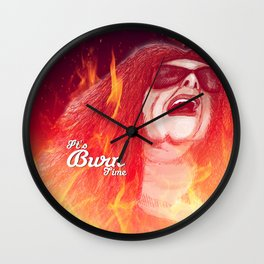'ANY LAST WORD?' 'ONLY ONE... BALENCIAGAAAAA' Wall Clock