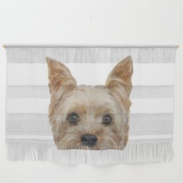 Yorkshire Terrier original painting print Wall Hanging
