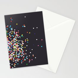 Sprinkles - Vintage Black Stationery Cards