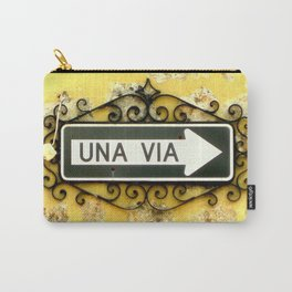Una Via Carry-All Pouch