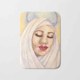 Byzantine Madonna Bath Mat
