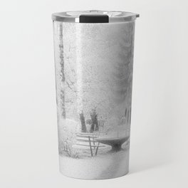 benches in the park Travel Mug