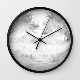 The Night Wire Wall Clock