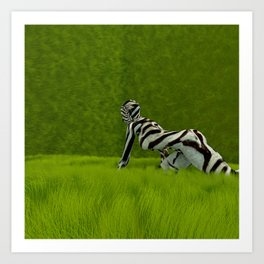 Integrate Wilderness Art Print