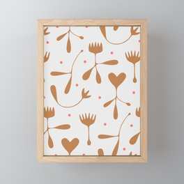 Autumn Seed Framed Mini Art Print