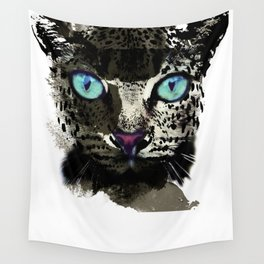 BLACK TIGER Wall Tapestry