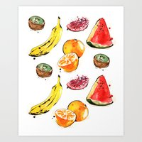 Fruits 2 Art Print