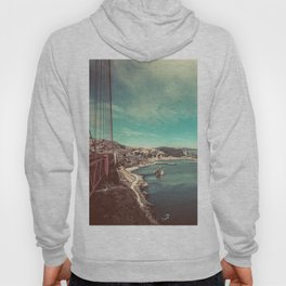 San Francisco Bay from Golden Gate Bridge Hoody