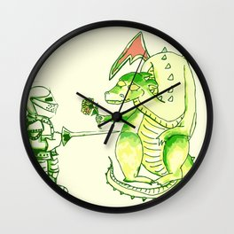 Good v.s. Evil? Wall Clock
