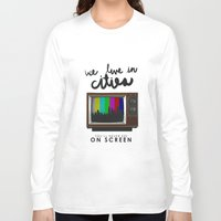 lorde Long Sleeve T-shirts featuring Cities you'll never see on screen - Lorde by Jesus Acosta