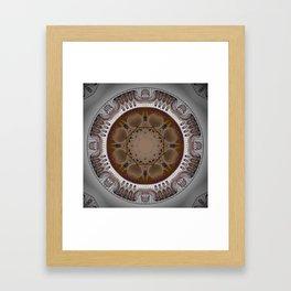 Ancient ceilings Framed Art Print