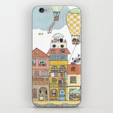 79 Cats in Harbor City iPhone & iPod Skin