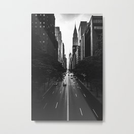 New York City (Black and White) Metal Print