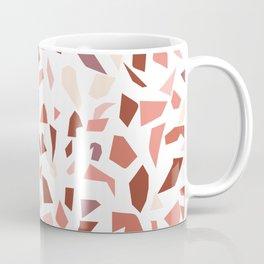 Terrazzo pattern - Earthy tones Coffee Mug