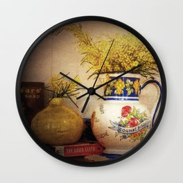 Last Of The Wattle Wall Clock